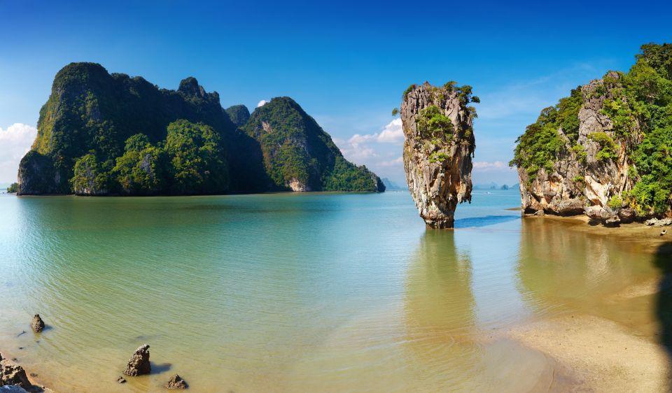 Fahren Sie Kajak in Phang Nga Bay