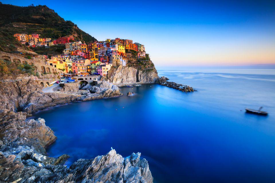 Villages across the Italian Riviera