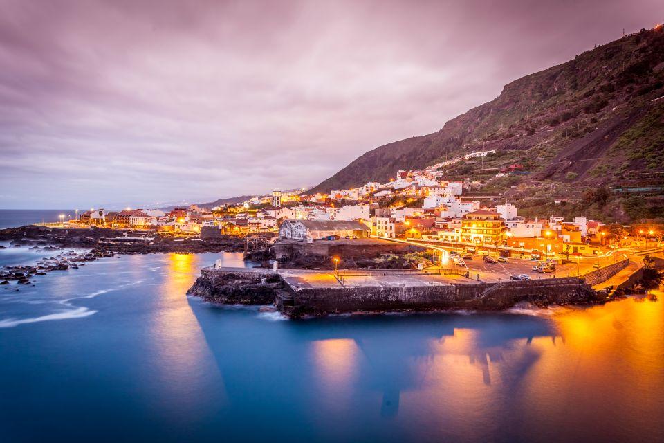 Garachico sull'isola di Tenerife, Canarie in Spagna