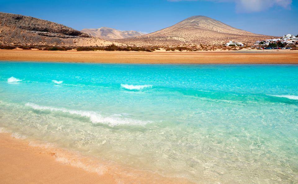 Spiaggia di Jandia Risco El Paso a Fuerteventura, Canarie in Spagna