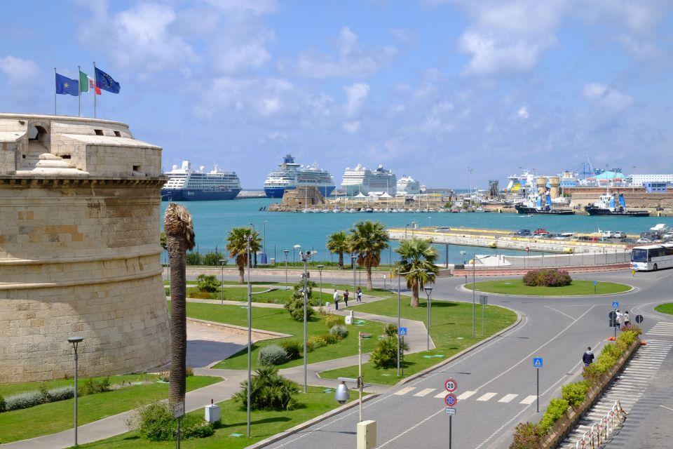 Der Hafen Civitavecchia