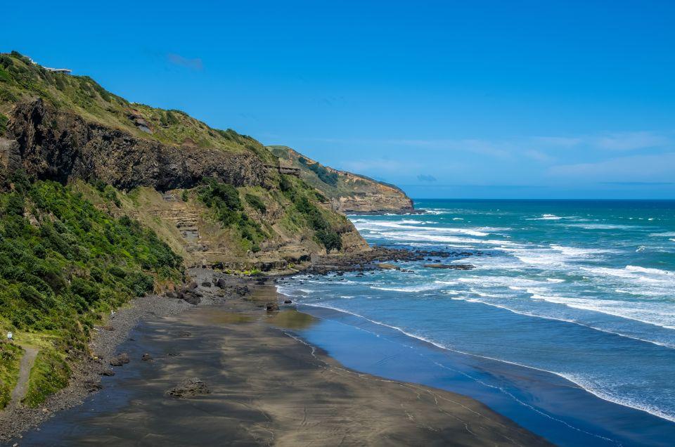 Plage de Muriwai, Nouvelle-Zélande