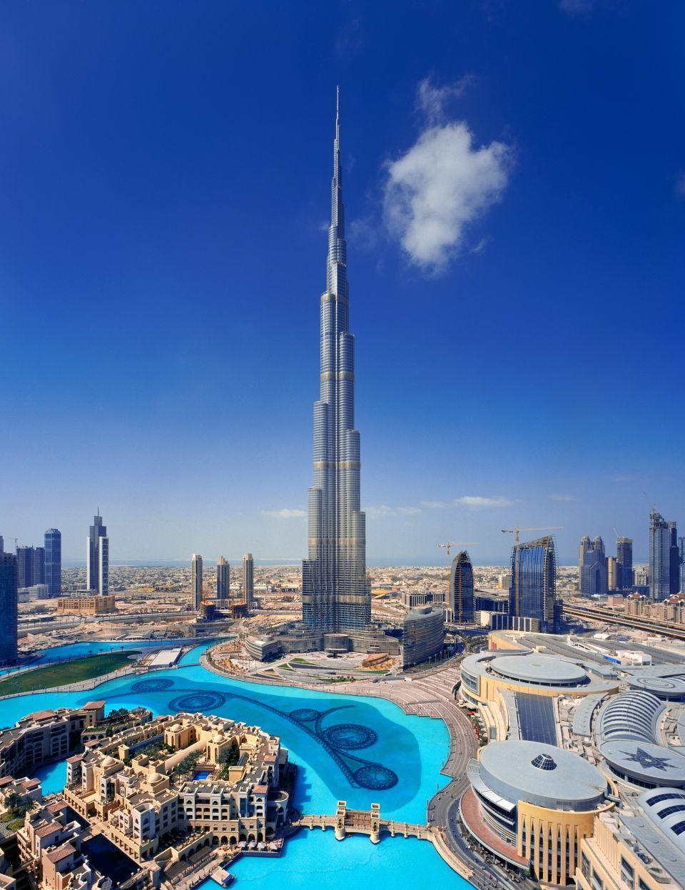 1. Burj Khalifa