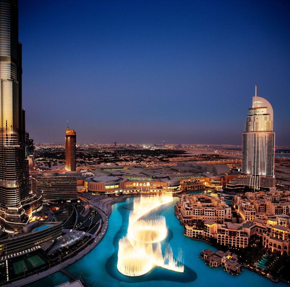 2. Dubai Fountain