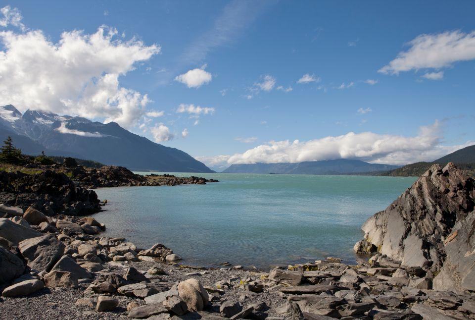 Plage près de Yakuta, Alaska, USA