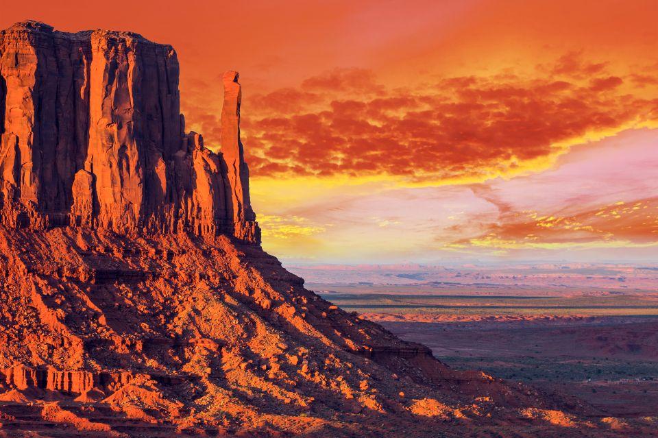 2. Mitten Butte in Monument Valley, Utah, USA