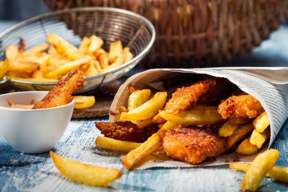 Fish and Chips  - Regno Unito