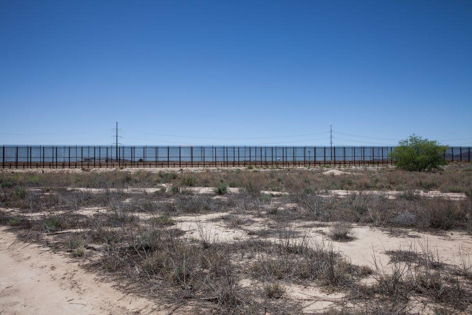 Frontière entre les États-Unis et le Mexique