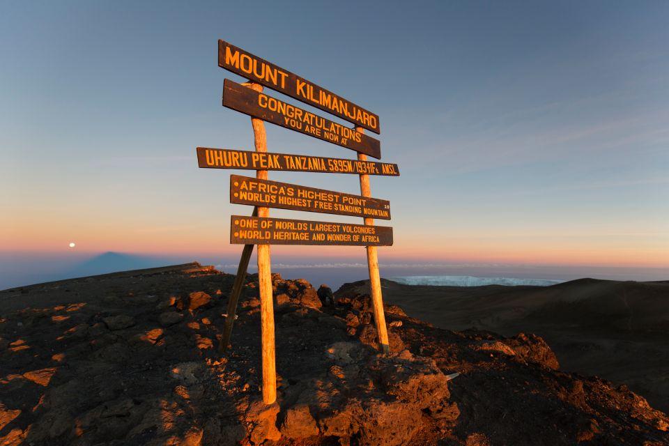 1. La persona più anziana che ha scalato il Kilimanjaro