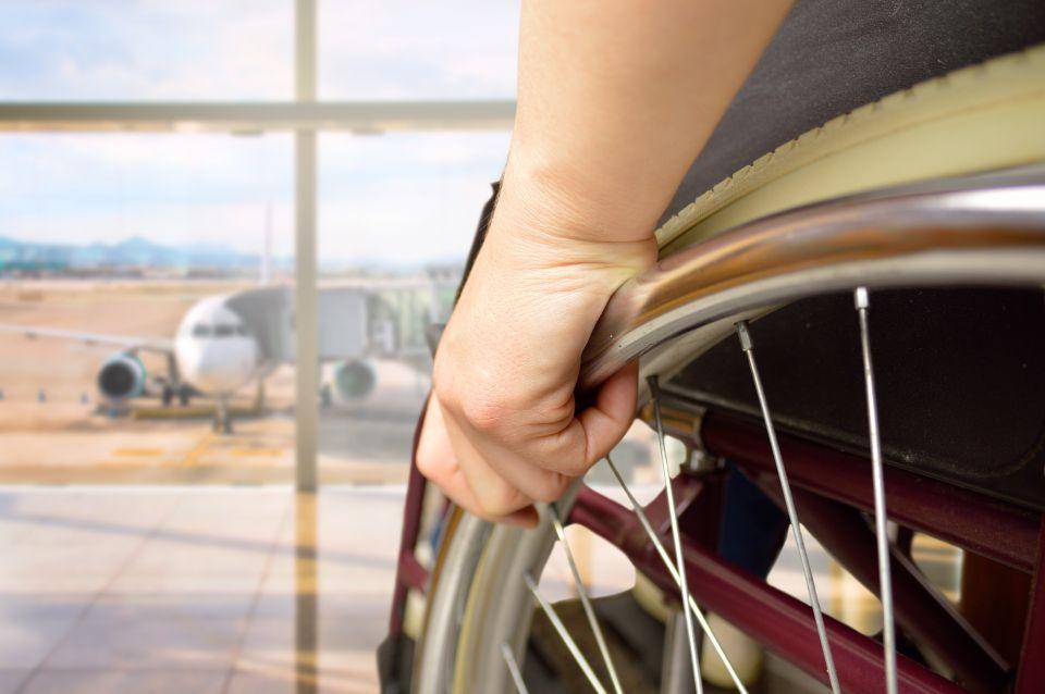 4. Transamerica su una sedia a rotelle