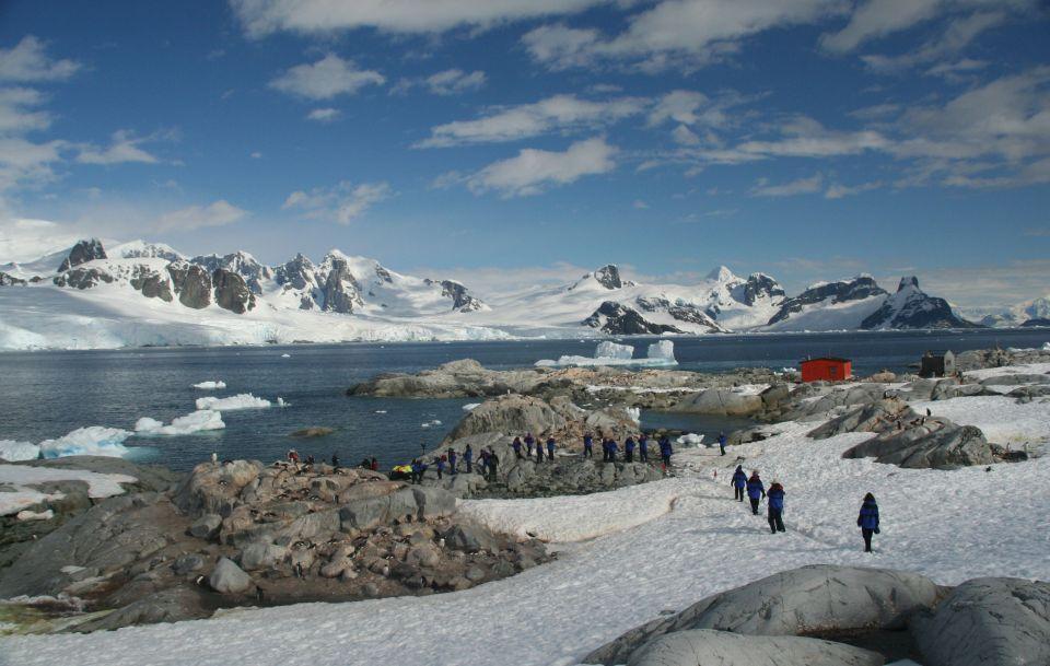 4.Aeroporto di Wilkins, Antartide