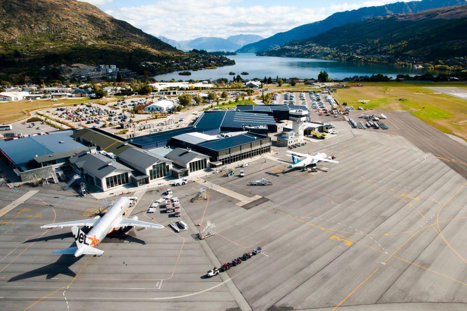 8.Aeroporto di Queenstown, Nuova Zelanda