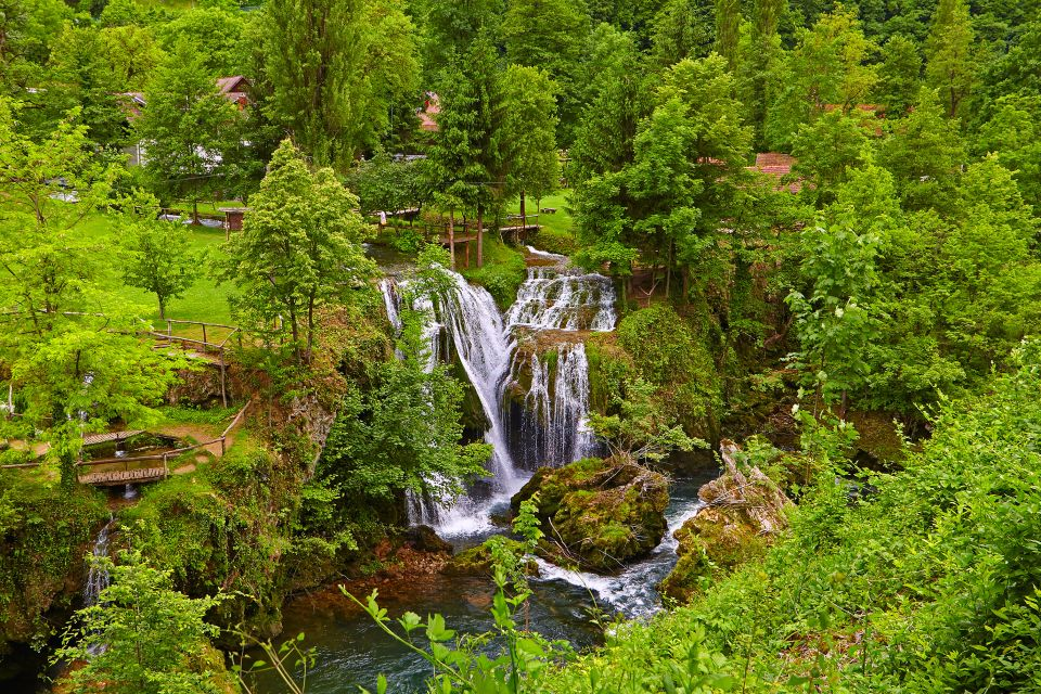 3. Rastoke Waterfalls, Croatia