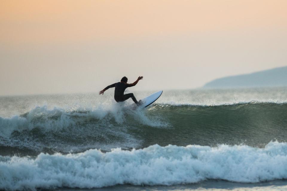 Die großen Surfwellen