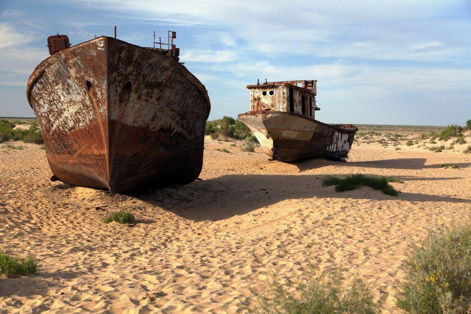 Aralkum Desert, Uzbekistan