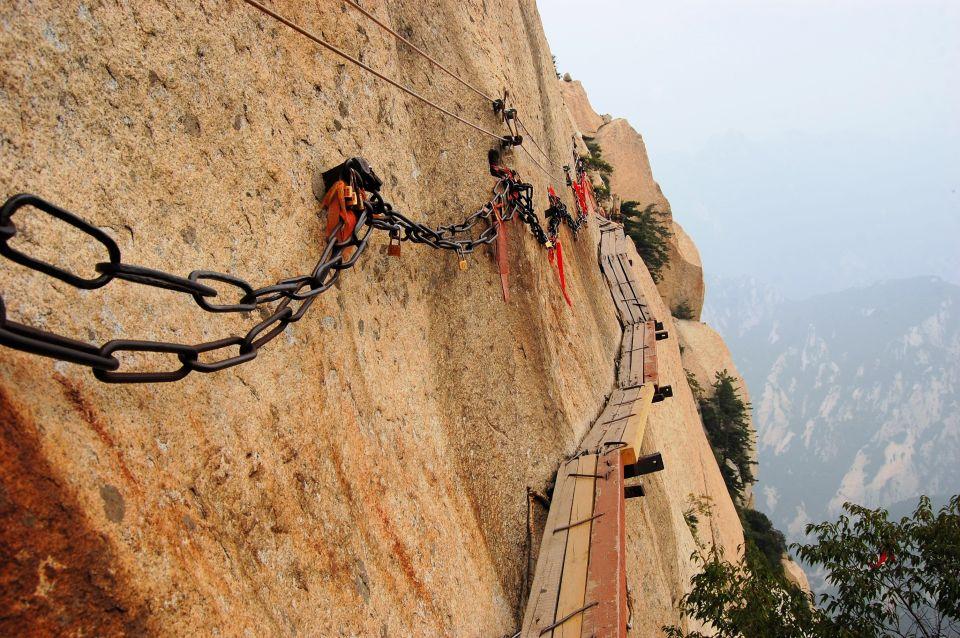 Mont Hua Shan - Chine