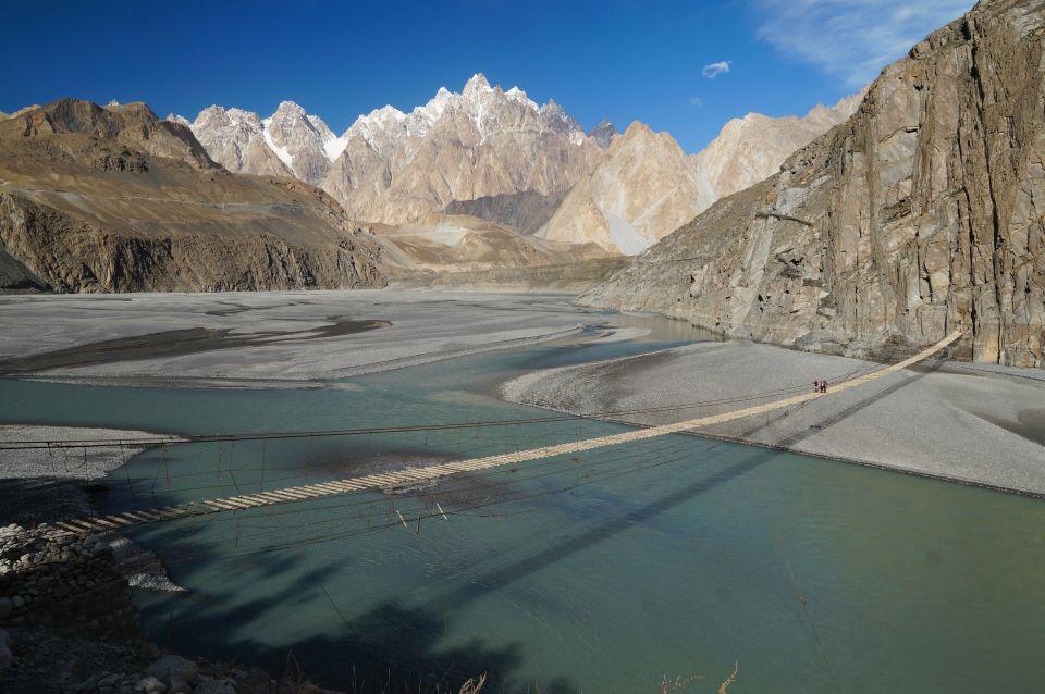 Le pont suspendu d'Hussaini - Pakistan