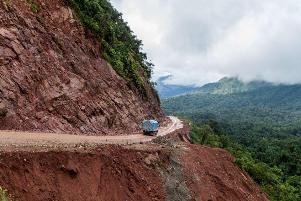 La « route de la mort » - Bolivie