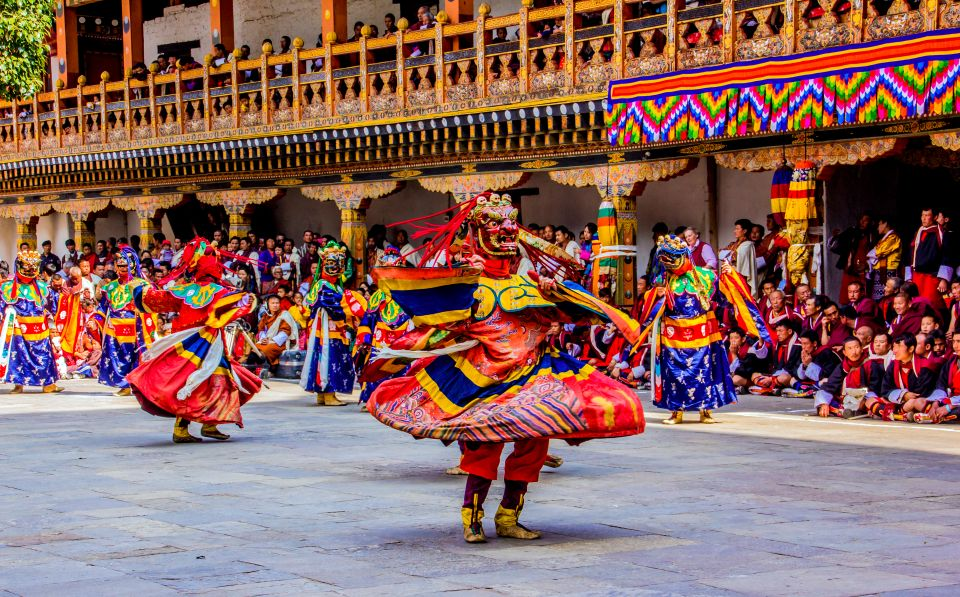 The colors and festivity of Bhutan