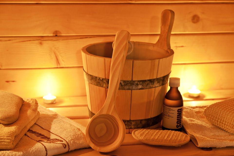 1. Finnische Sauna