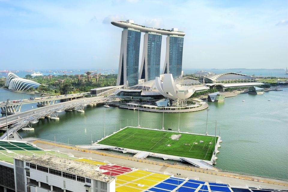 Terrain flottant - Singapour