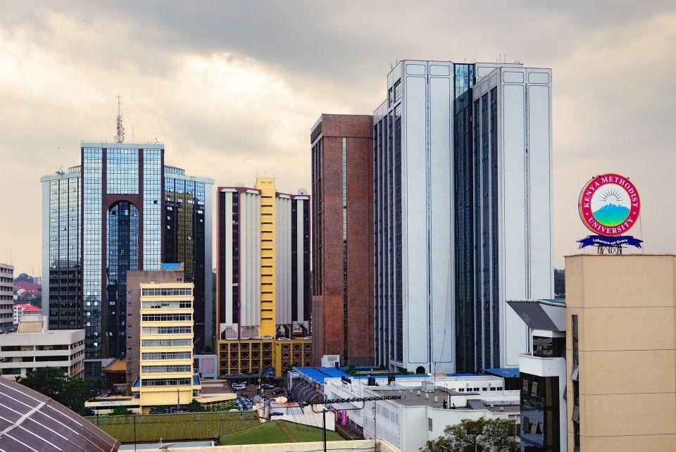 El centro de Nairobi
