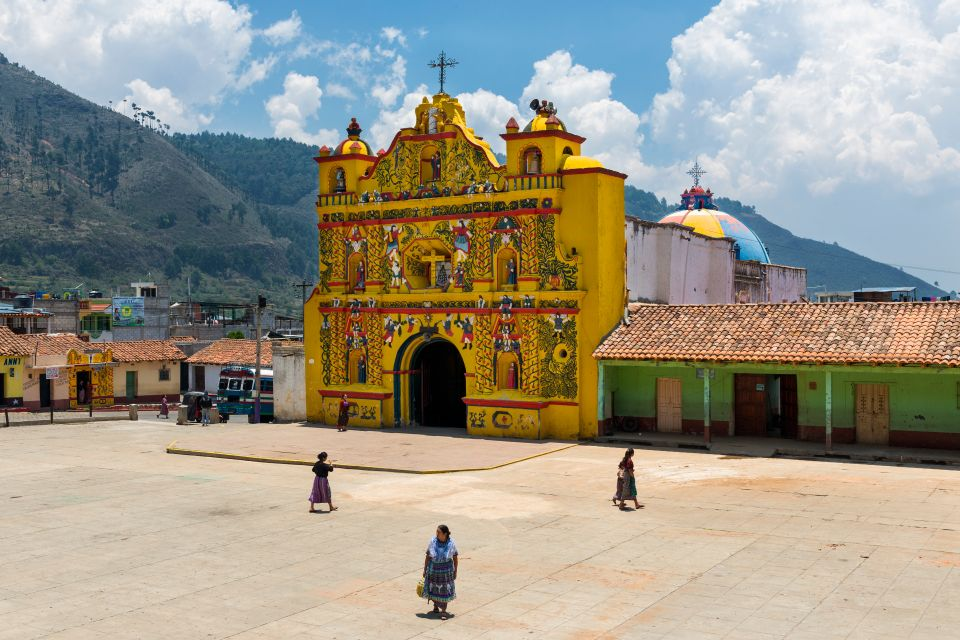 Church of San Andrés Xecul, Guatemala