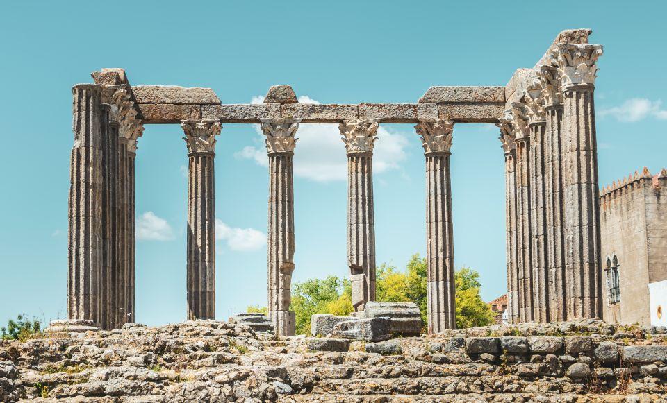 Templo romano y termas