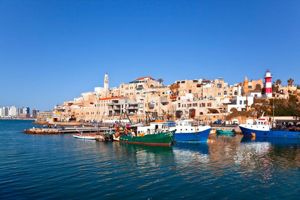 4. The port city of Jaffa