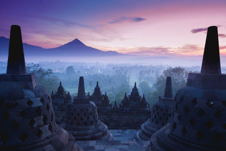 Temple de Borobudur - Indonésie