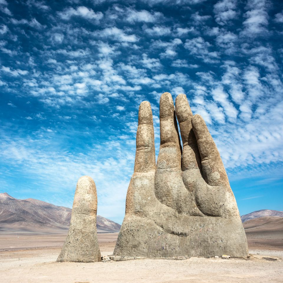 Hand of the Desert, Chile