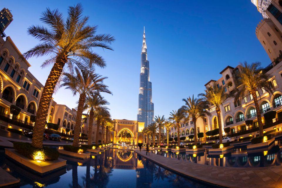 Vereinigte Arabische Emirate: Dubai, Abu-Dhabi, Doha (Katar)