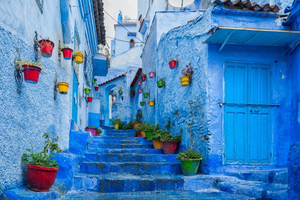Les ruelles de Chefchaouen - Maroc