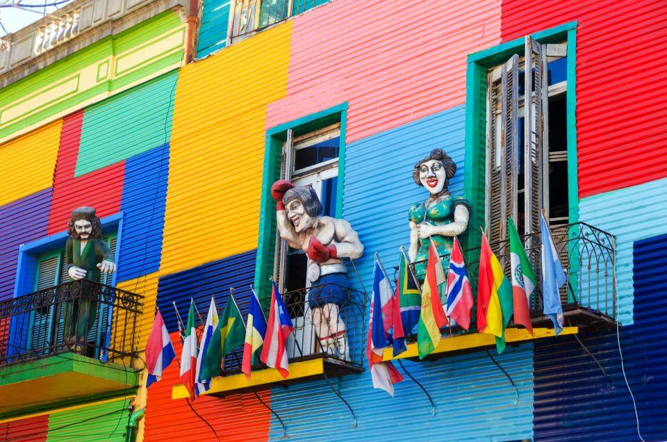 Le quartier de la Boca à Buenos Aires - Argentine