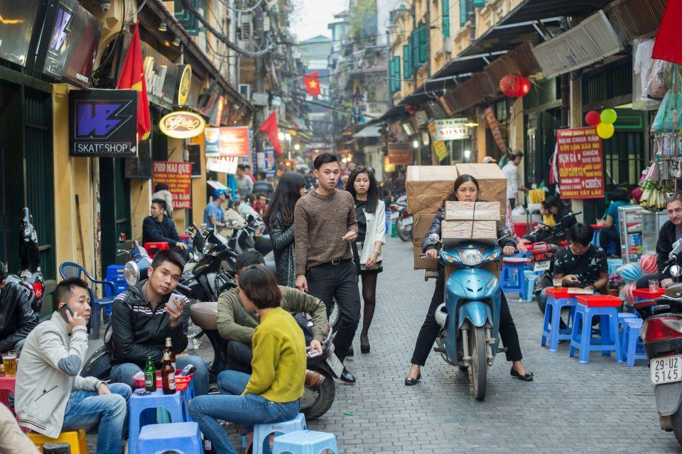 Les ruelles vivantes d'Hanoï - Vietnam