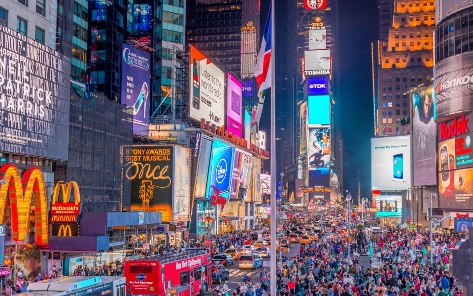 Times Square à New-York - États-Unis