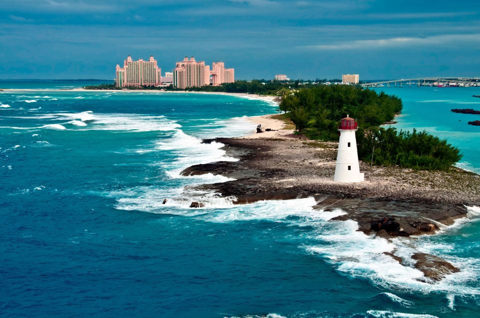 The Bahamas: To join the stiff-toe gang
