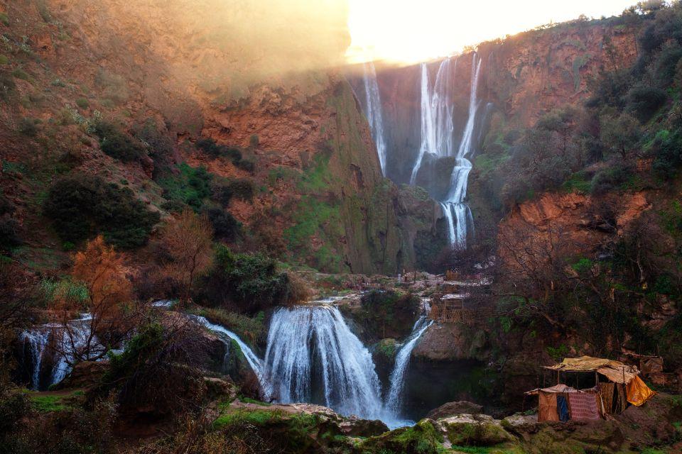 Ouzoud Waterfalls, Tanaghmeilt