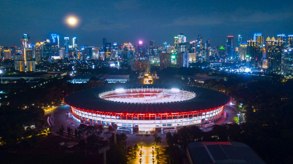 8. Estadio Bung Karno. Yakarta