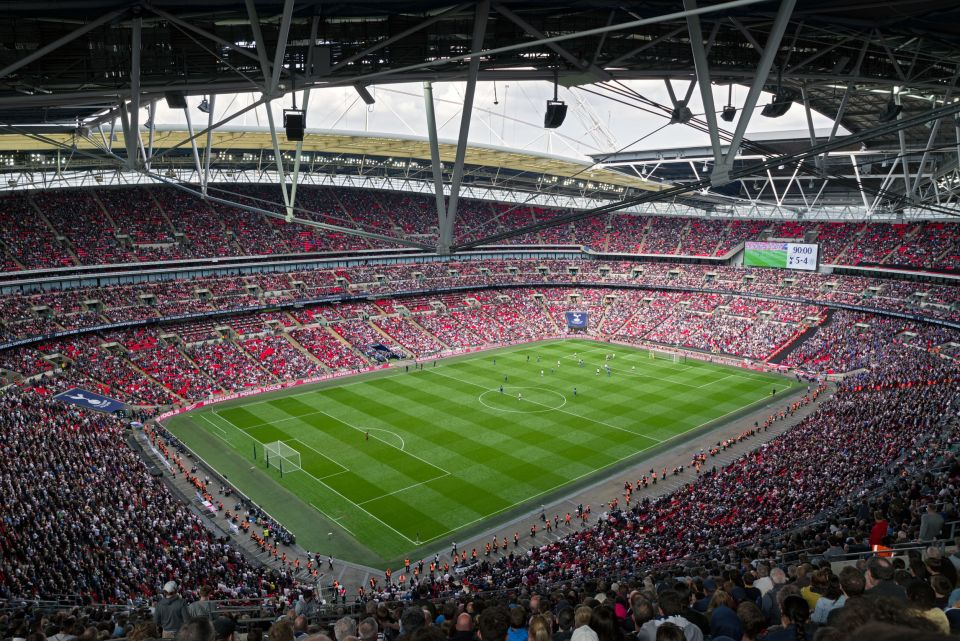 7. Wembley Stadium, Londres