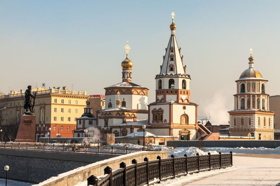 For the metropolitan charm of Irkutsk