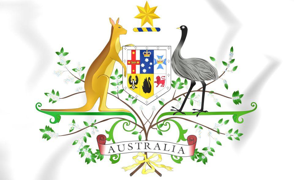 Le kangourou et l'émeu - Australie