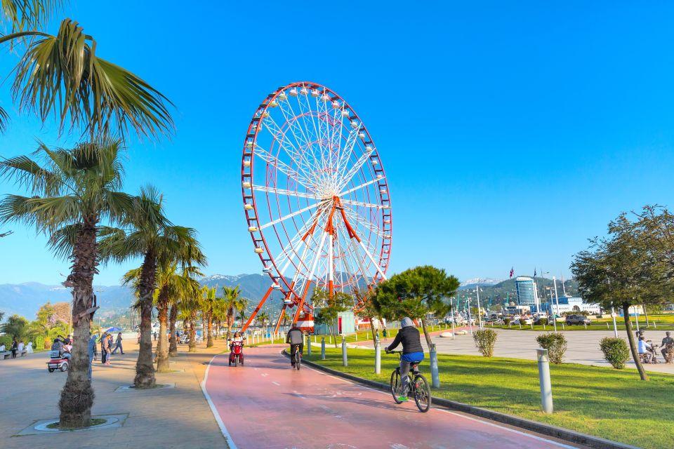 Start your journey seaside in Batumi