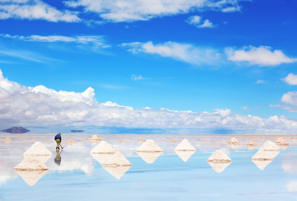 The Salar de Unyuni, Bolivia