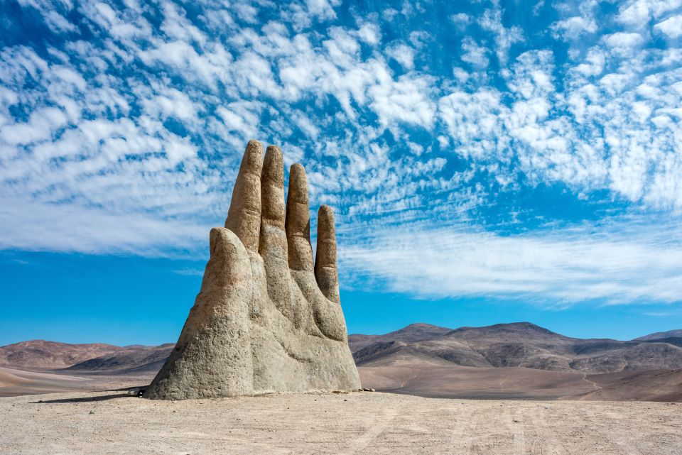 The Hand of the Desert, Chile