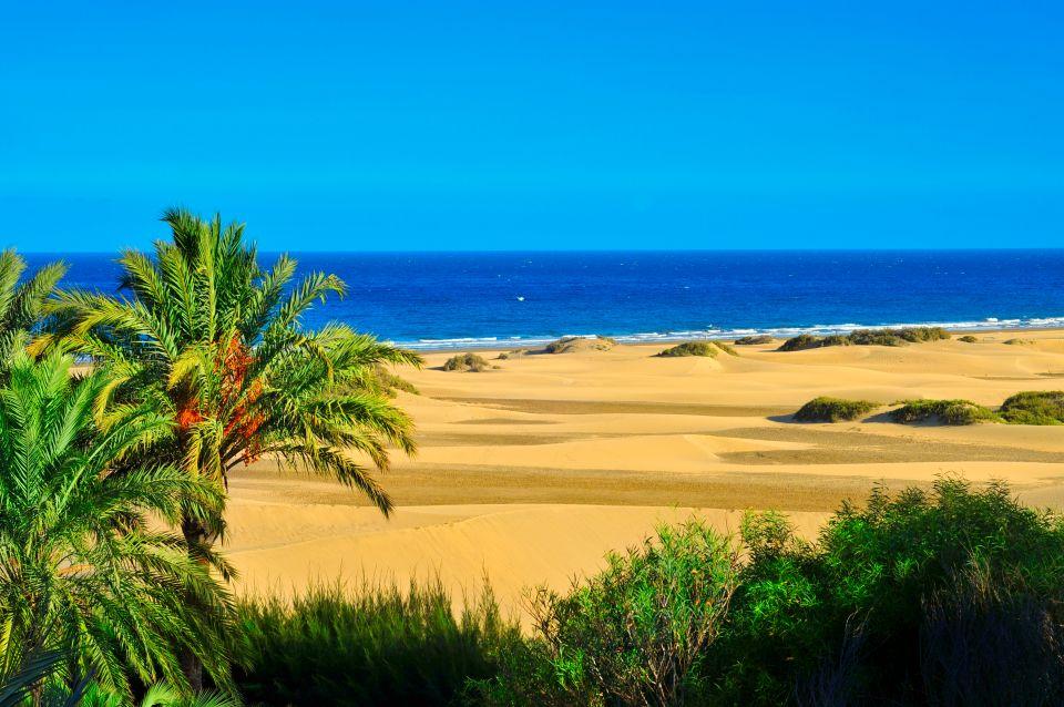 Les dunes de Maspalomas à Gran Canaria