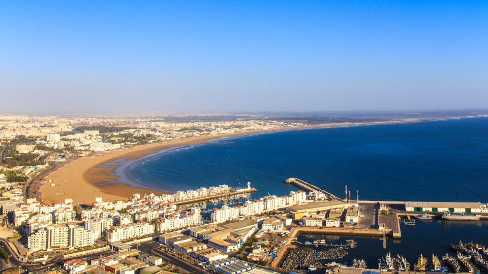 La grande plage d'Agadir