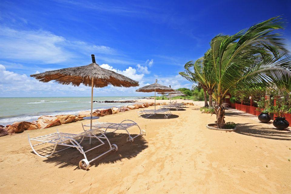 La plage de Saly sur la Petite Côte au Sénégal