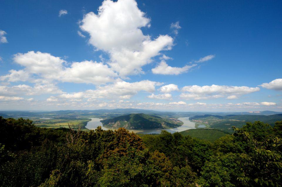 The wild Danube River