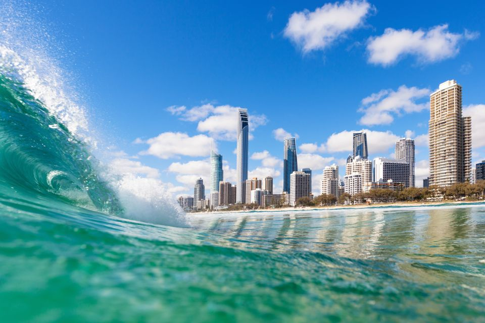 If you're a surf enthusiast: Gold Coast